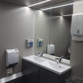 Waschbereich-Toilettenwagen-mieten